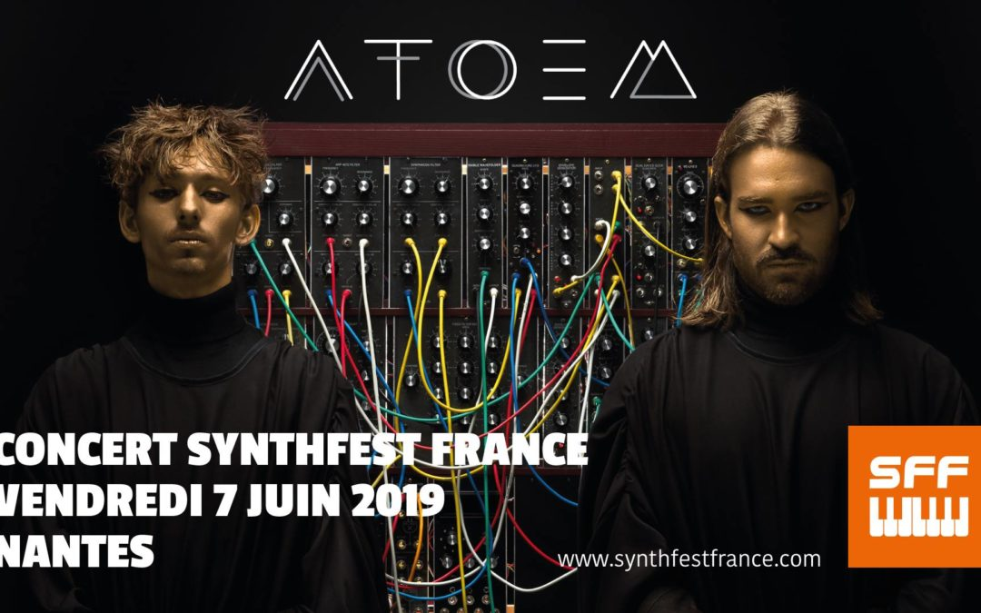 SynthFest France 2019 - Concert ATOEM
