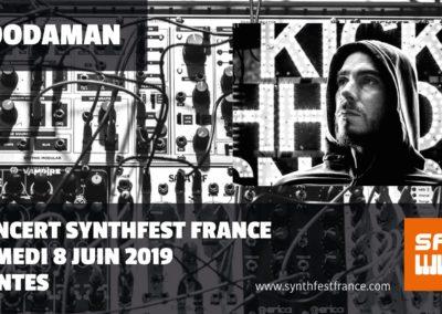 SynthFest France 2019 - Concert Boodaman