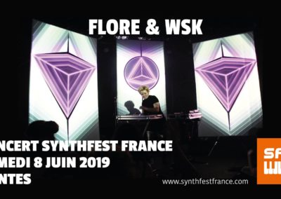 SynthFest France 2019 - Concert Flore Morfin