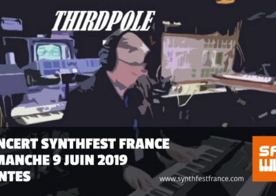SynthFestFrance 2019 - Concert Thirdpole