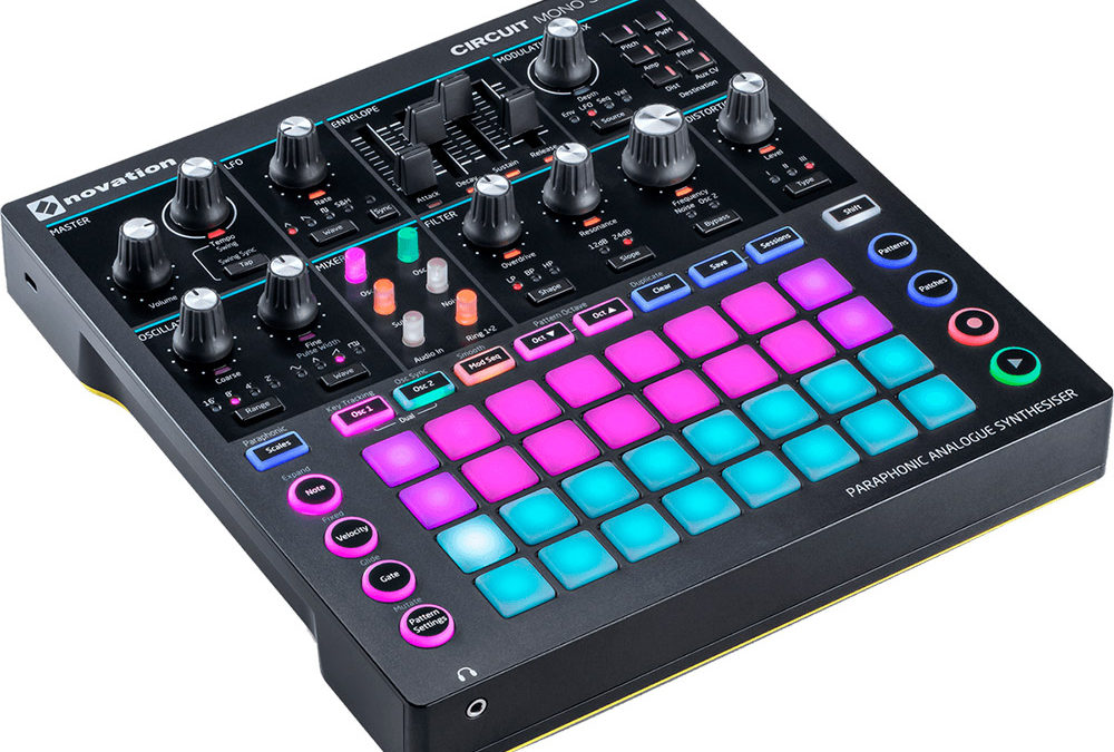 La groove-box NOVATION Circuit Mono Station pour 6€ !