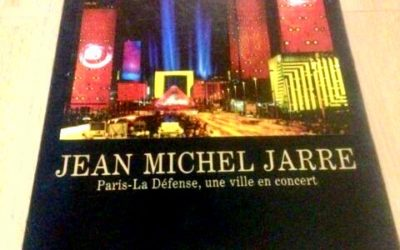 Tombola – Livre collector Jean-Michel Jarre offert par Michel Geiss