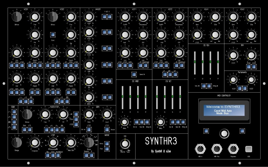 SynthFest France - Synthr3