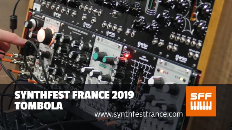 SynthFest France 2019 Tombola