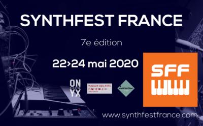 SynthFest France 2020 – Présentation