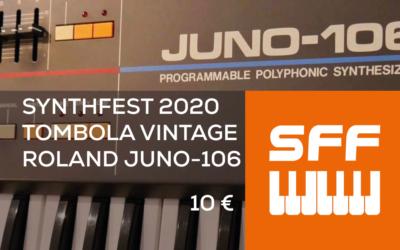 SynthFest 2020 – Tombola Vintage