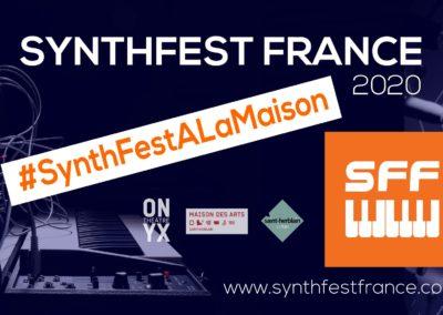SynthFest 2020 #SynthFestALaMaison
